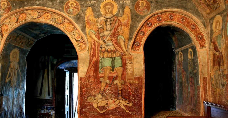 Pictură - Sfânta Mănăstire Jgheaburi